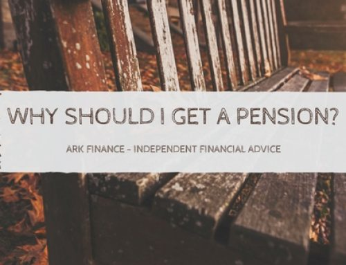Why should I get a pension ?