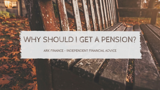 a pension ark finance